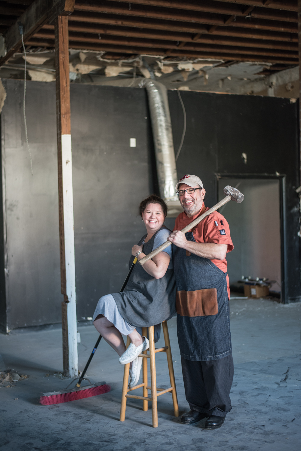 Allison and Kurt D'Aurizzio, owners of Flour and Fig bakehouse in Jacksonville
