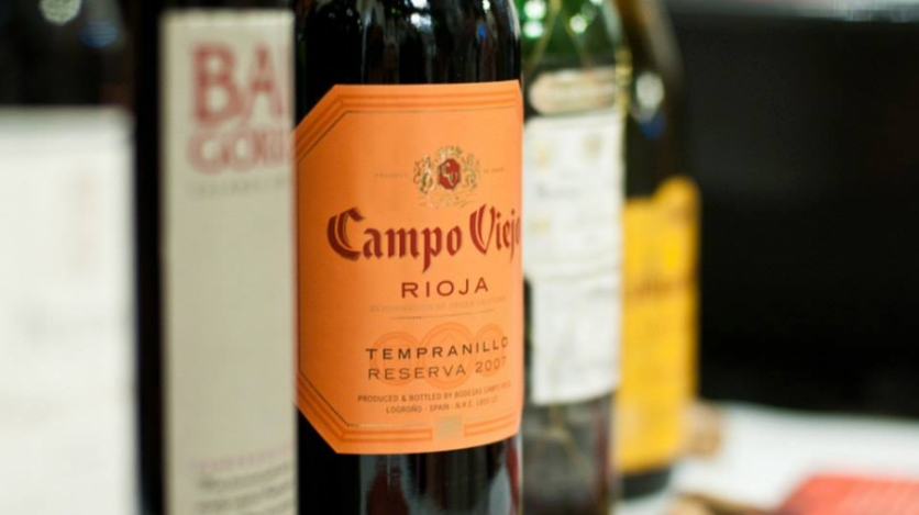 Spanish Wines in bottles