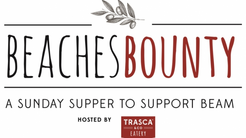 Beaches Bounty logo supporting BEAM hosted by Trasco and Company in ponte vedra
