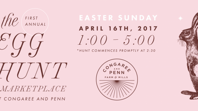 Congaree and Penn Egg Hunt and Marketplace