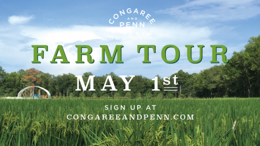 Congaree and Penn may Day Farm tour