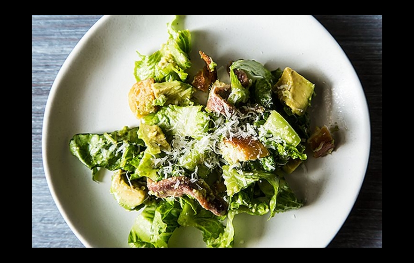 Avocado Caesar Salad