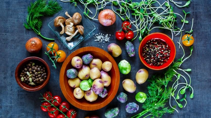 vegan chef table spring dinner adventure