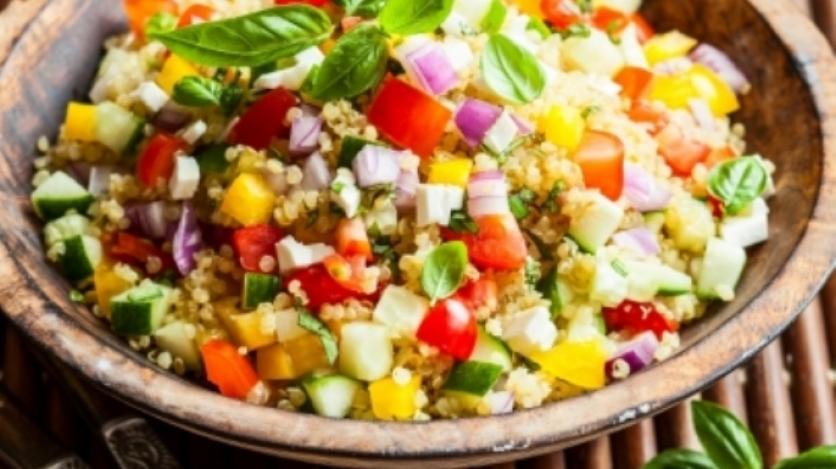 bowl of quinoa