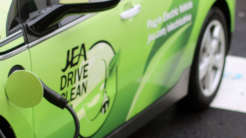 JEA electric car charging