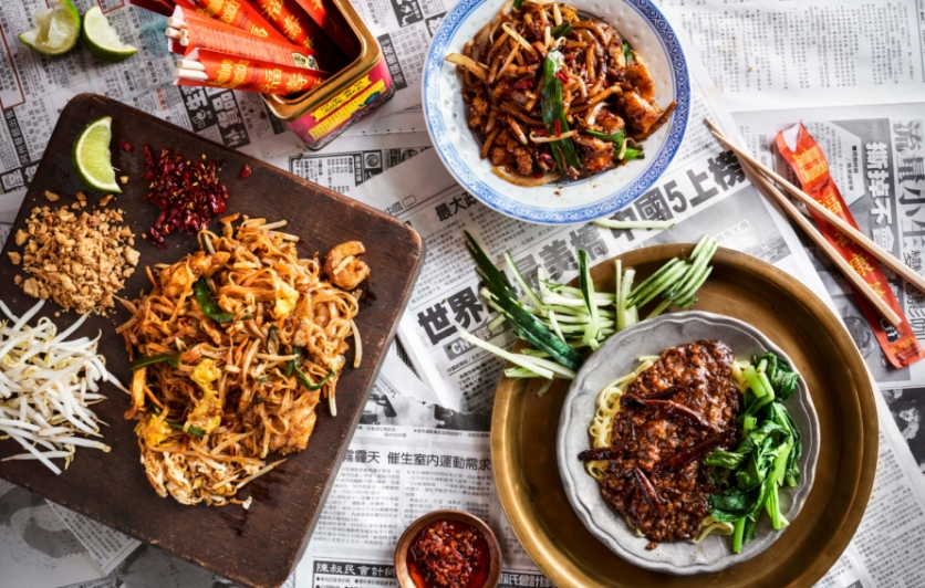 Chinese New Year at Hawkers