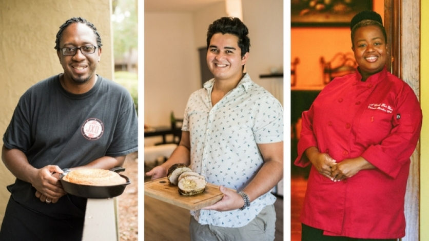 Northeast Florida Chefs at home