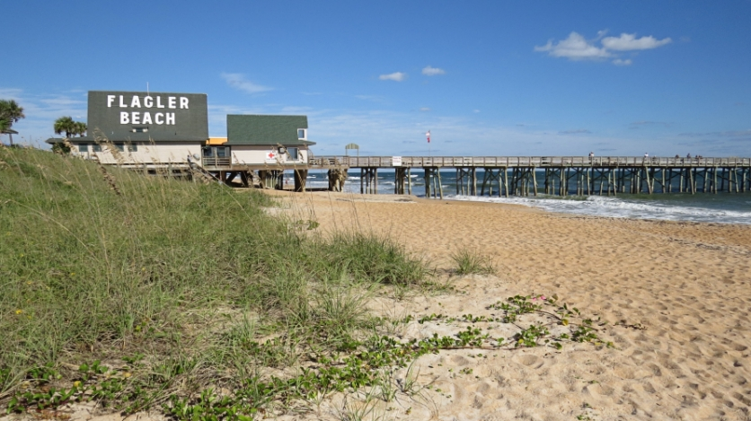 Uncrowded Beaches at Flagler Beach