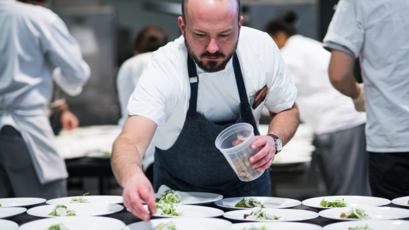 Chef Michael McKinney Restaurant Orsay