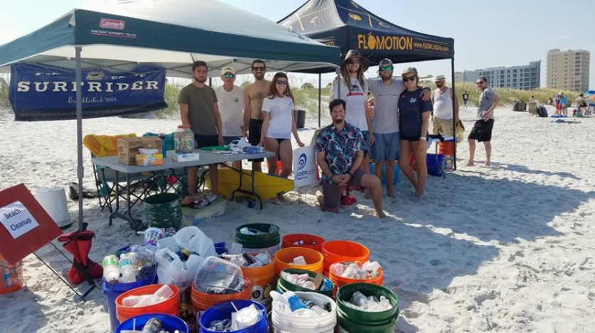 Native Sun and Surfrider Clean Up Beaches