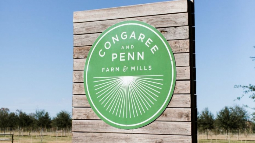 Congaree and Penn Farm sign