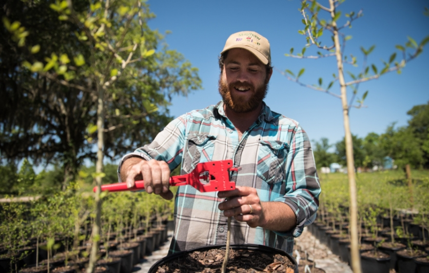 Scott Meyer of Congaree and Penn Farm in Jacksonville Florida