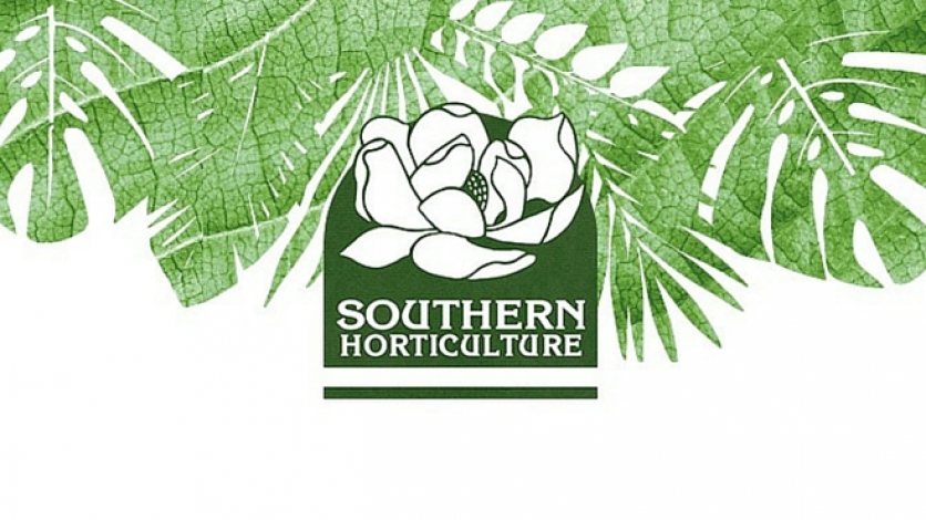 Southern Horticulture garden shop  logo in st. augustine florida