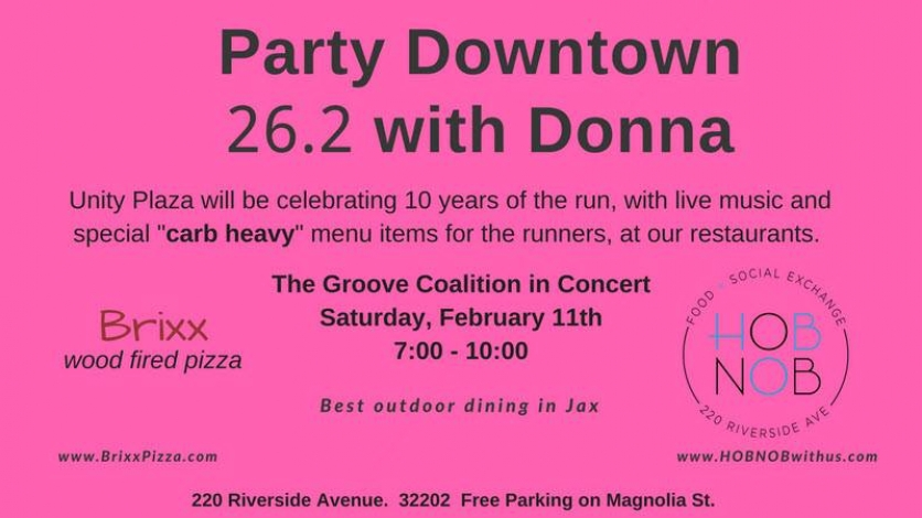 Party downtown for 262 with Donna