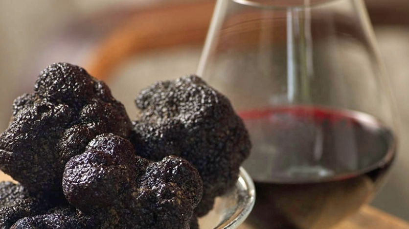 Truffles and Burgundy at Matthews in Jacksonville Florida