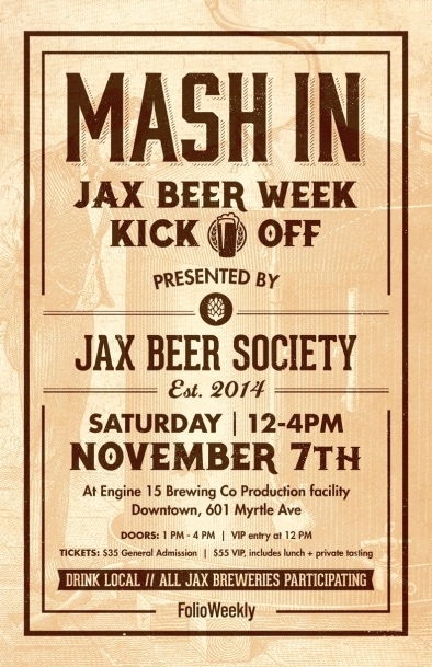 Jax Beer Week Jax Beer society