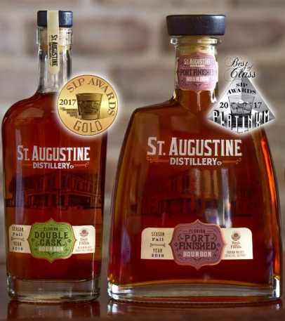 St. Augustine Distillery wins Bourbon Awards