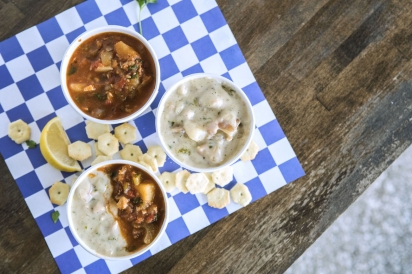 Chowder at the St. Augustine Seafood Company