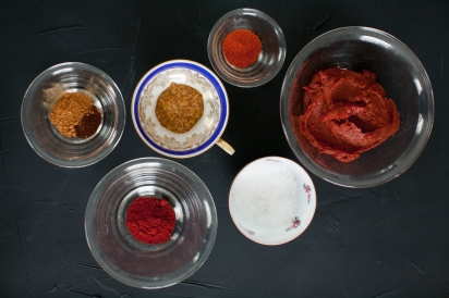 Making Tomato Chutney