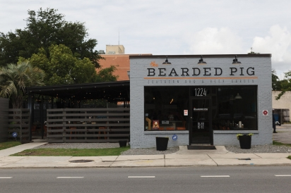 the bearded pig BBQ in Jacksonville