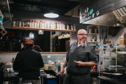 Chef Kirk of 13 Gypsies