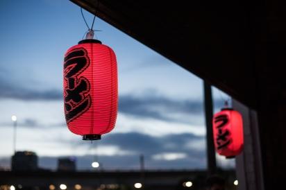 lanterns at ramenfest 2016