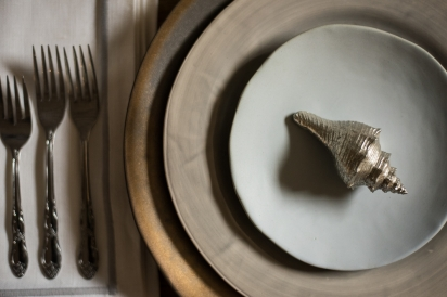 table setting from pearl home in jacksonville Beach florida