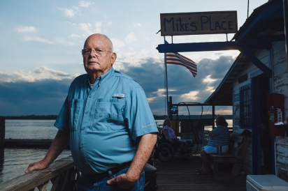 Frank Usina, owner Aunt Kate's and The Reef