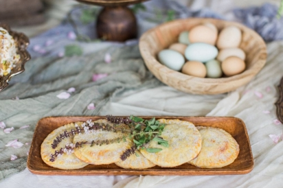 pastries and farm fresh eggs