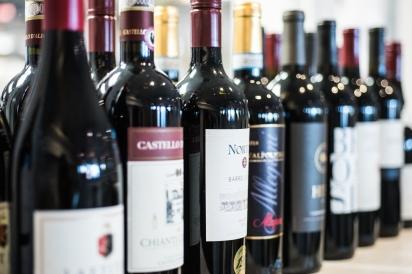 Wine at Restaurant Doro