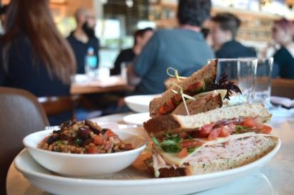 Turkey sandwich at Il Desco in Jacksonville Florida