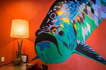 vaughn cochran painting of fish