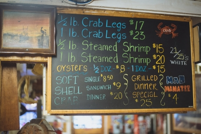 seafood prices on board