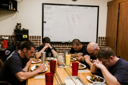 dinner at the firehouse