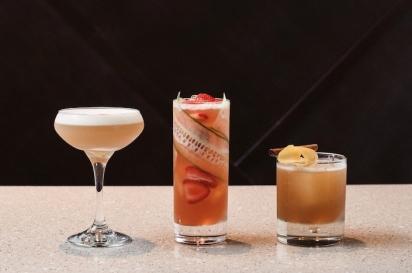 Craft cocktails at medure in ponte vedra florida