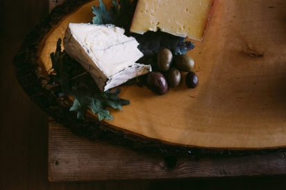 olives and cheese
