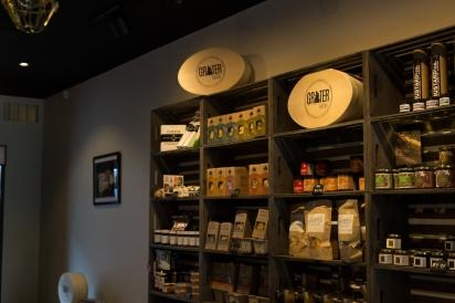 Shelves at Grater Goods