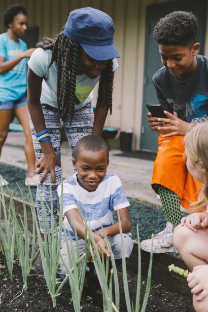 gardening at the foundation academy