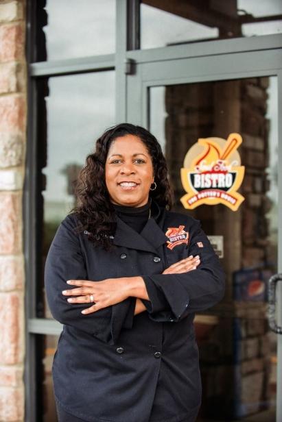 Celestia Mobley at Potter's Soul Food Bistro