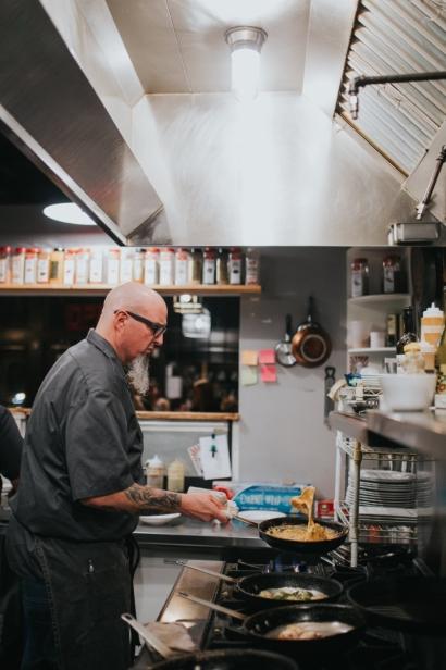 Chef Howard Kirk of 13 Gypsies.