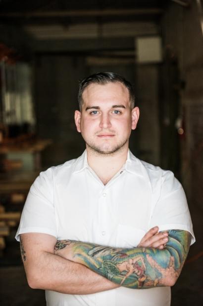 Chef Ian Fleischmann of Il Desco