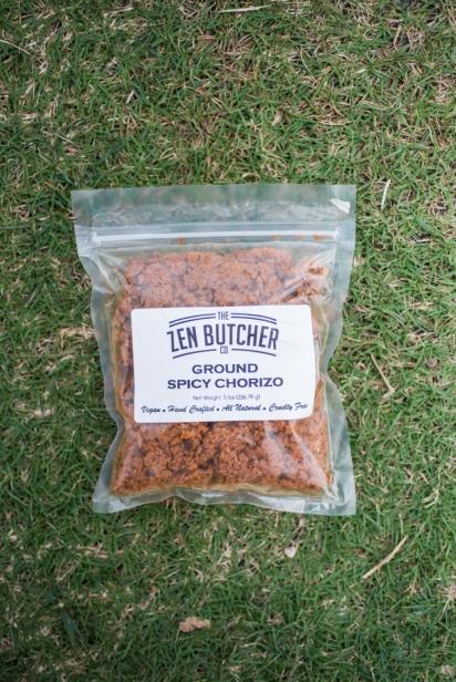 zen butcher vegan chorizo jacksonville Florida