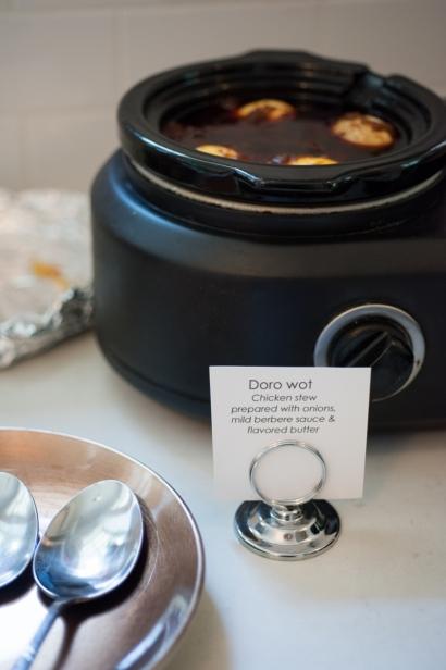 Doro Wat in a kettle