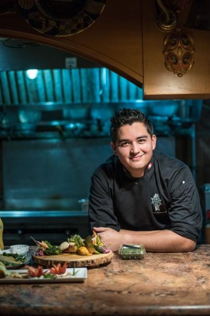 Marcel Vizcarra, chef at la cocina in st. augustine beach