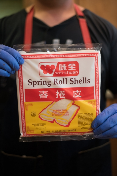 spring roll wrappers for lumpia