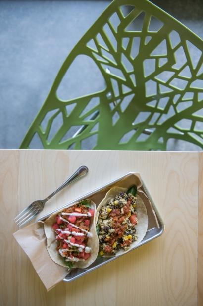 Vegan tacos from FreshJax in Jacksonville