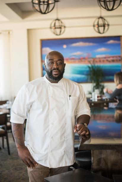 Chef Kenny Gilbert at Gilbert's Southern Jax Beach