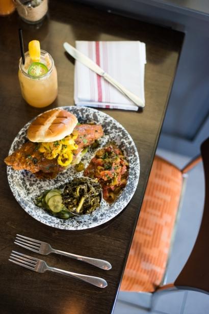 Gilbert's Hot Chicken Table at Jax Beach