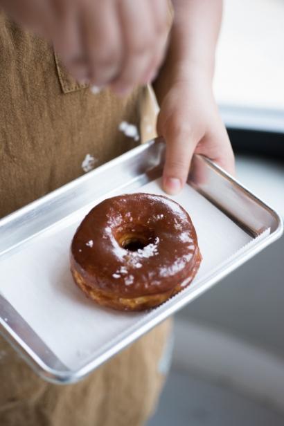 Salted Caramel Donut