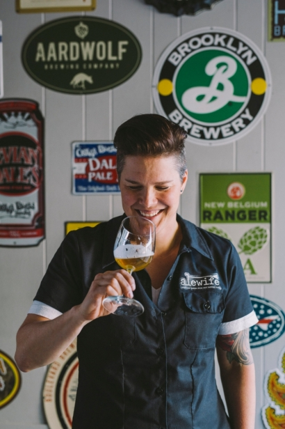 Kelly Picard owner Alewife Bottle Shop Tasting Room